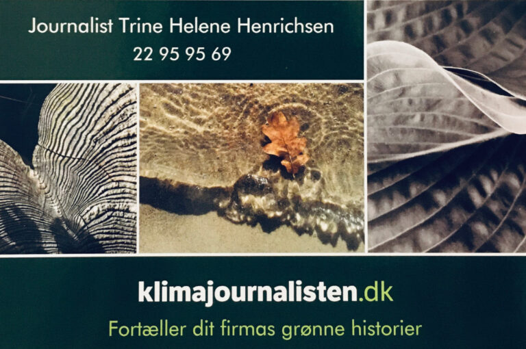 Tekst og Billede ved Trine Helene Henrichsen