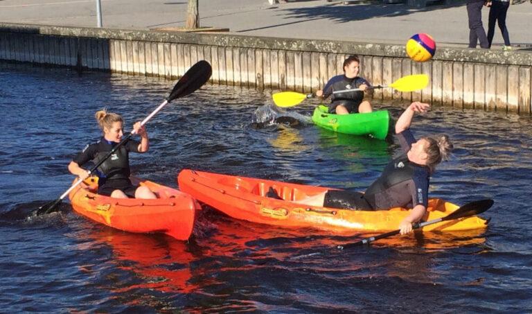 Roskilde Kajakpolo og standup paddling